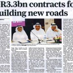 contracts for building new roads